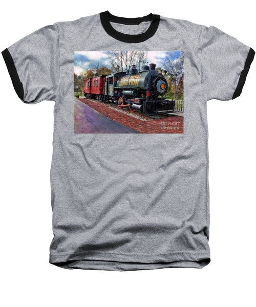 Train At Olmsted Falls - 1 Baseball T-Shirt