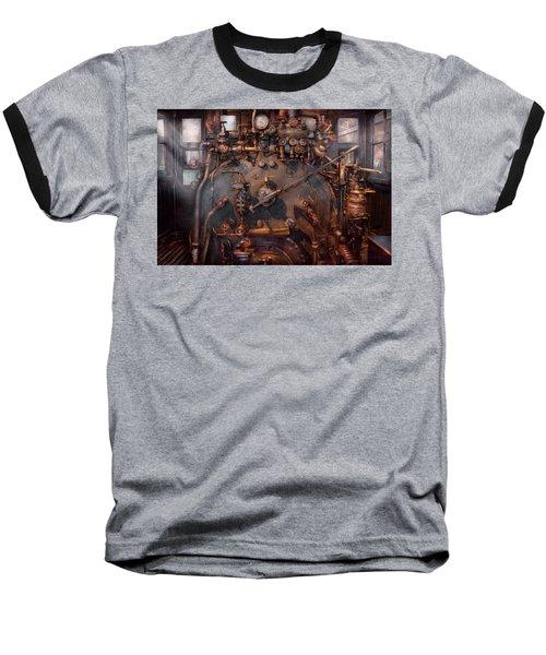 Train - Engine - Hot Under The Collar  Baseball T-Shirt