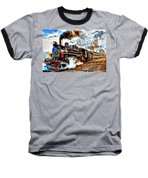 Train Series 02 Baseball T-Shirt