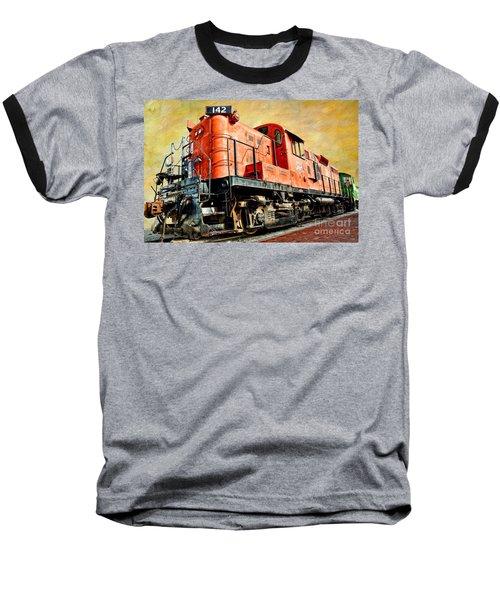 Train - Mkt 142 - Rs3m Emd Repowered Alco Baseball T-Shirt