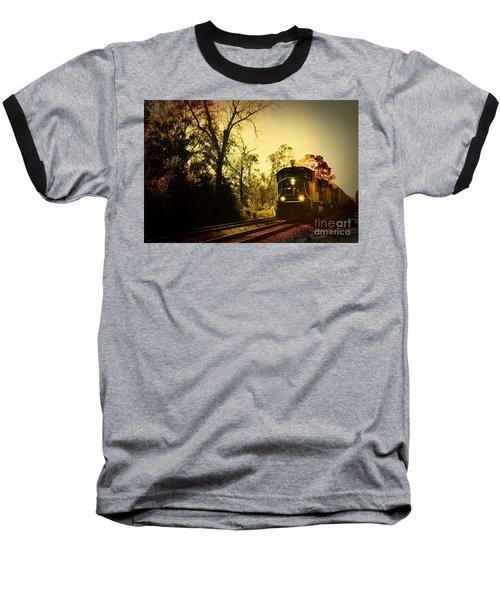 Train Ride Baseball T-Shirt