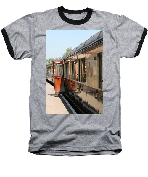 Train Transport Baseball T-Shirt