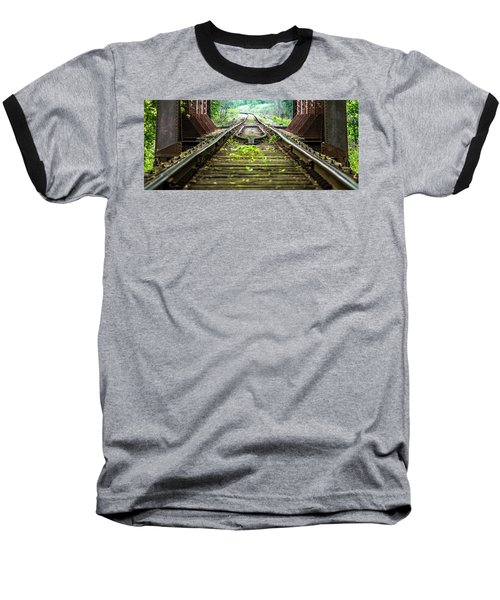 Train Trestle 2 Baseball T-Shirt