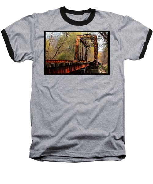 Train Trestle   Baseball T-Shirt