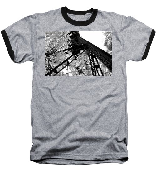 Train Trestle In The Woods 2.0 Baseball T-Shirt