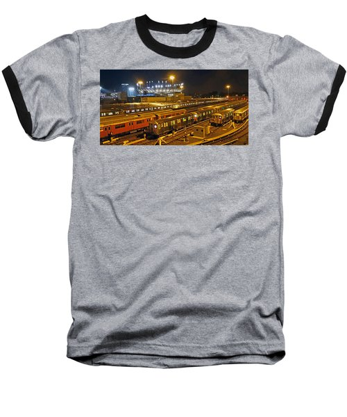 Trains Nyc Baseball T-Shirt