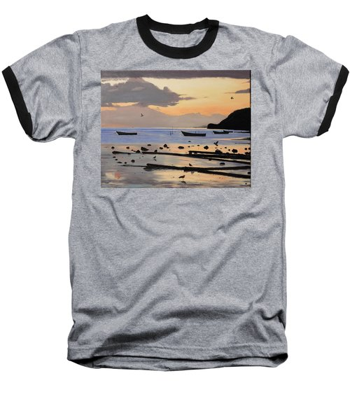 Tranquil Dawn Baseball T-Shirt