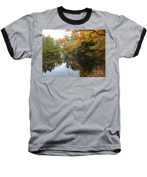 Tranquil Getaway Baseball T-Shirt by Brenda Brown