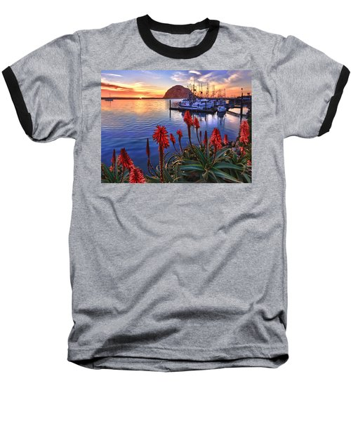 Tranquil Harbor Baseball T-Shirt