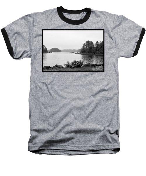 Tranquil Harbor Baseball T-Shirt by Victoria Harrington