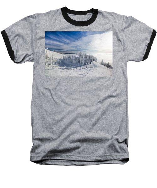 Tranquil Island Baseball T-Shirt