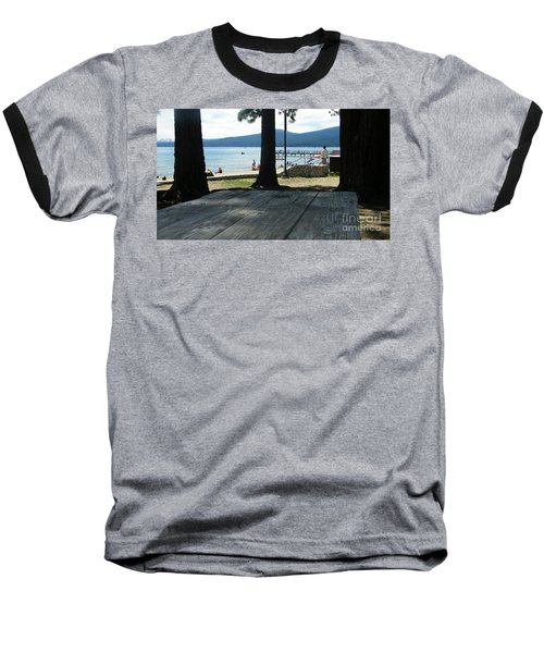 Baseball T-Shirt featuring the photograph Tranquil Moment by Bobbee Rickard