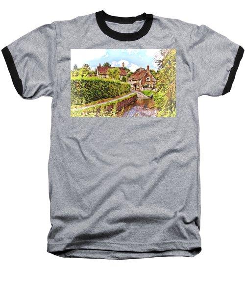 Tranquil Stream Lacock Baseball T-Shirt