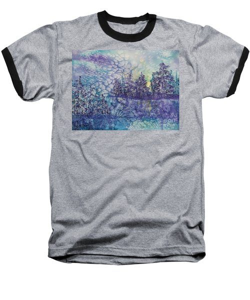 Tranquility Baseball T-Shirt by Ellen Levinson