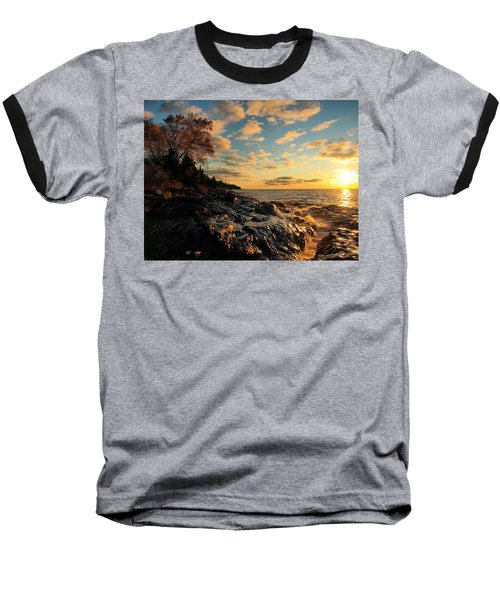 Tranquility Baseball T-Shirt by James Peterson