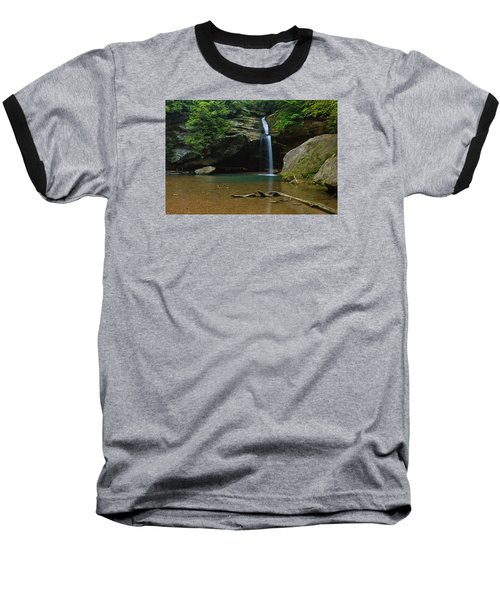 Tranquility Baseball T-Shirt by Julie Andel
