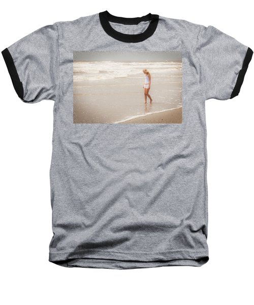 Baseball T-Shirt featuring the photograph Tranquility by Sennie Pierson