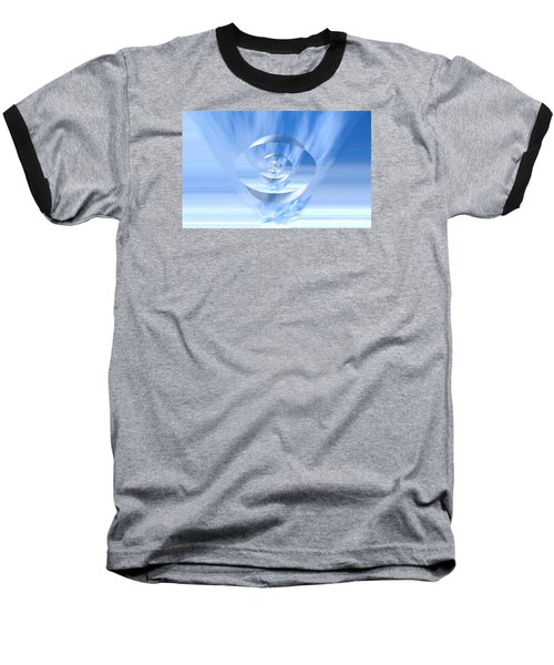 Transparency. Unique Art Collection Baseball T-Shirt by Oksana Semenchenko