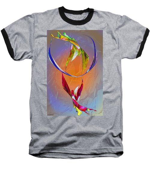 Trapeze Angels Baseball T-Shirt by Michele Avanti
