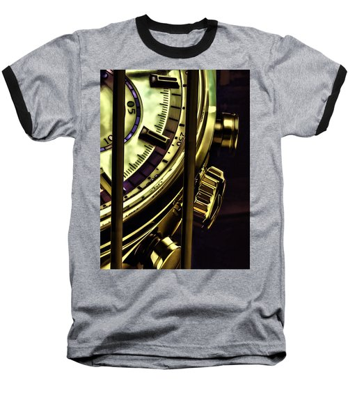 Baseball T-Shirt featuring the painting Trapped In Time by Muhie Kanawati