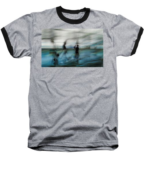 Baseball T-Shirt featuring the photograph Travel Blues by Alex Lapidus