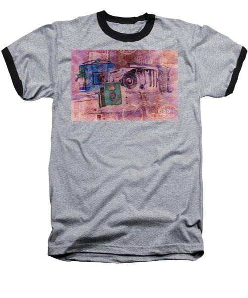 Travel Log Baseball T-Shirt