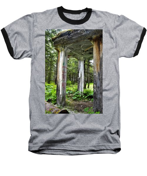 Treadwell Mine Building Baseball T-Shirt