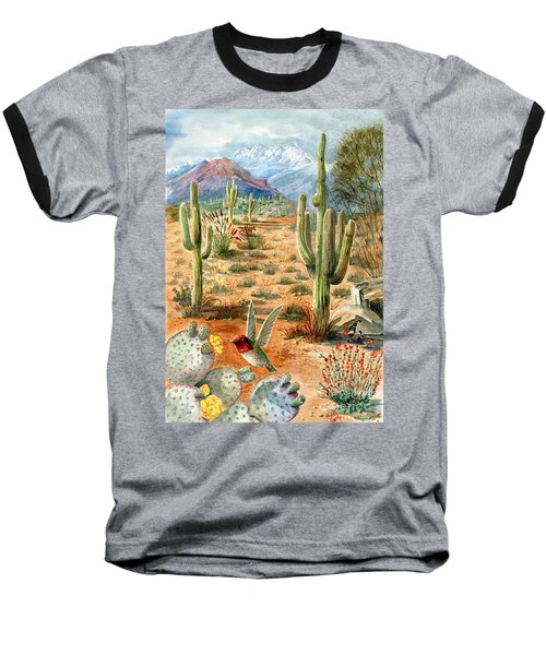Treasures Of The Desert Baseball T-Shirt