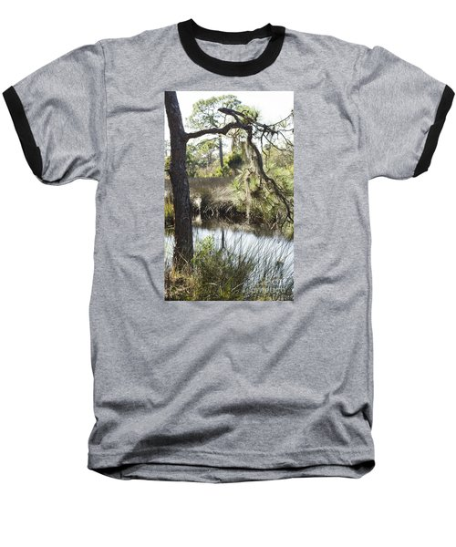 Tree And Branch Baseball T-Shirt