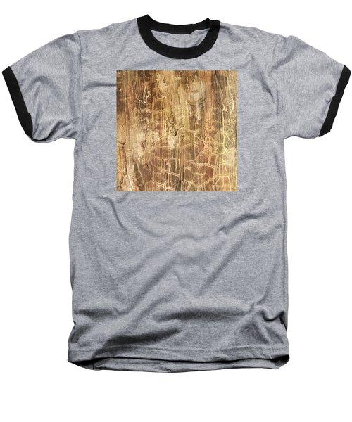Tree Bark Baseball T-Shirt