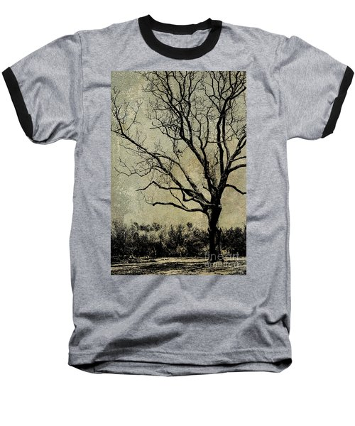 Tree Before Spring Baseball T-Shirt