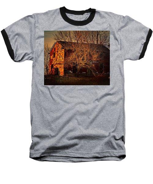 Tree House Baseball T-Shirt by Robert McCubbin