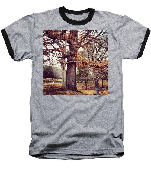 Tree Hugging Baseball T-Shirt