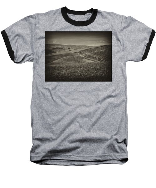 Baseball T-Shirt featuring the photograph Tree In Sienna by Hugh Smith