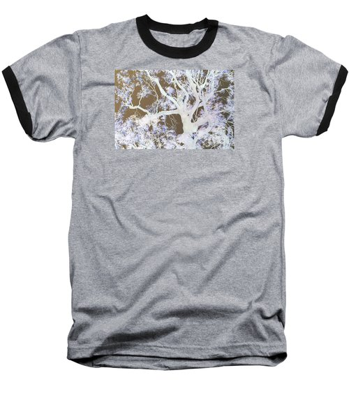 Baseball T-Shirt featuring the photograph Tree Inversion by Cassandra Buckley