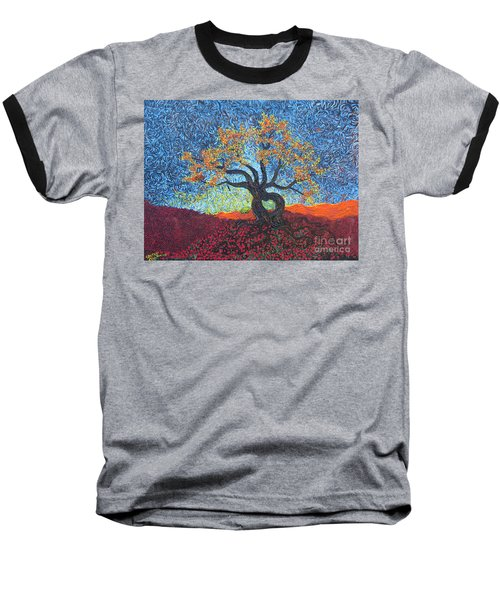 Tree Of Heart Baseball T-Shirt