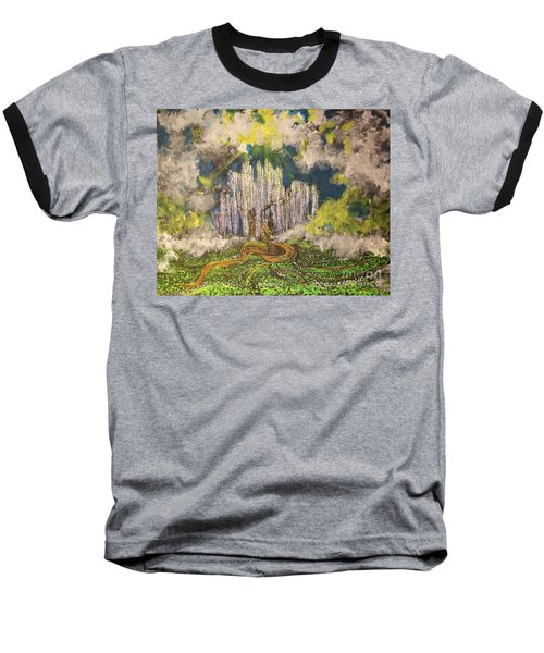 Tree Of Souls Baseball T-Shirt