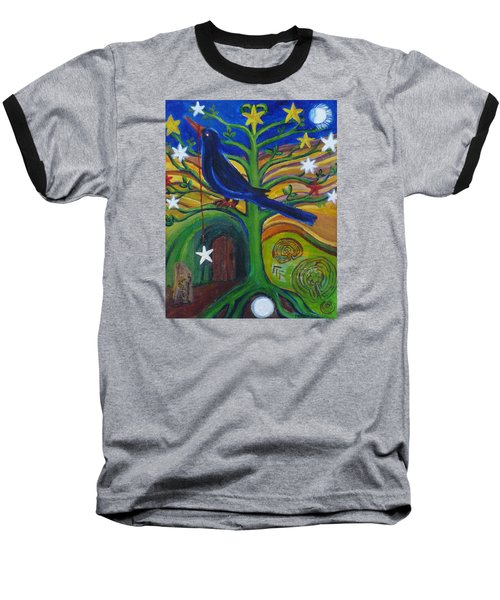 Tree Of Stars Baseball T-Shirt