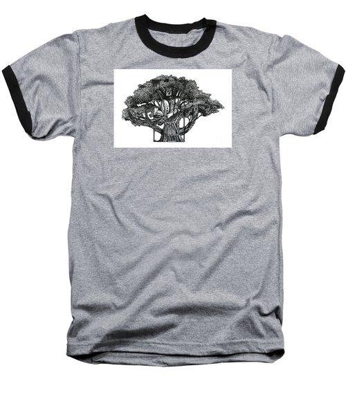 Tree Of Summer Baseball T-Shirt