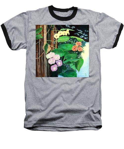 Tree Orchids Baseball T-Shirt