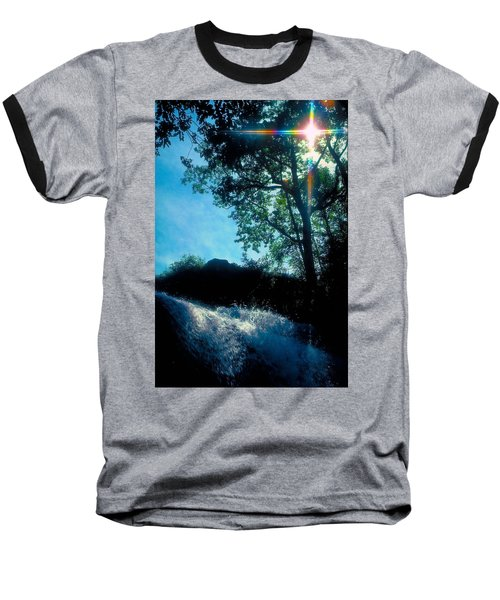 Baseball T-Shirt featuring the photograph Tree Planted By Streams Of Water by Marie Hicks