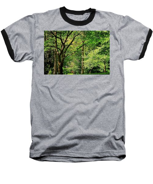 Baseball T-Shirt featuring the photograph Tree Series 3 by Elf Evans
