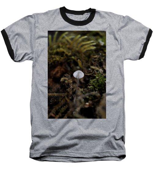 Tree 'shroom Baseball T-Shirt by Cathy Mahnke