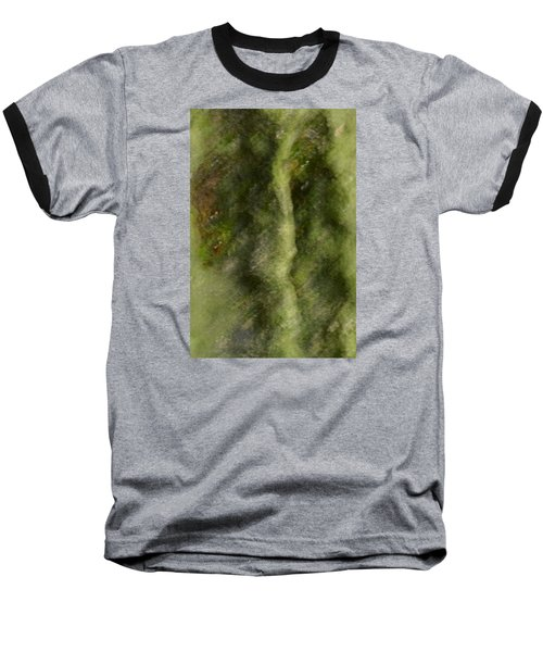Tree Man Baseball T-Shirt by Nadalyn Larsen