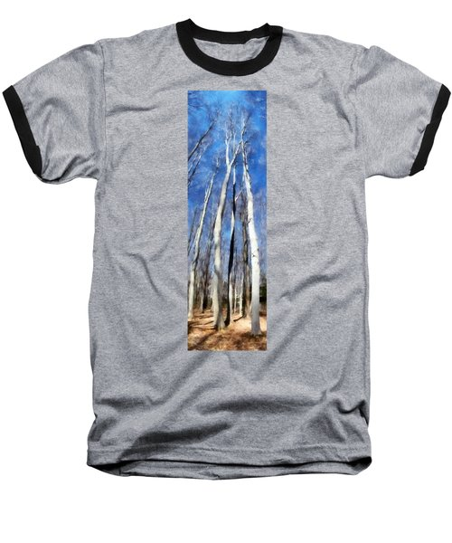 Tree Stand In Early Spring Baseball T-Shirt
