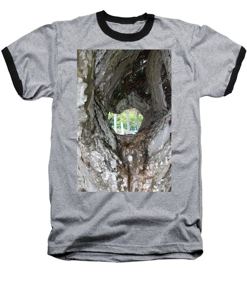 Baseball T-Shirt featuring the photograph Tree View by Rafael Salazar