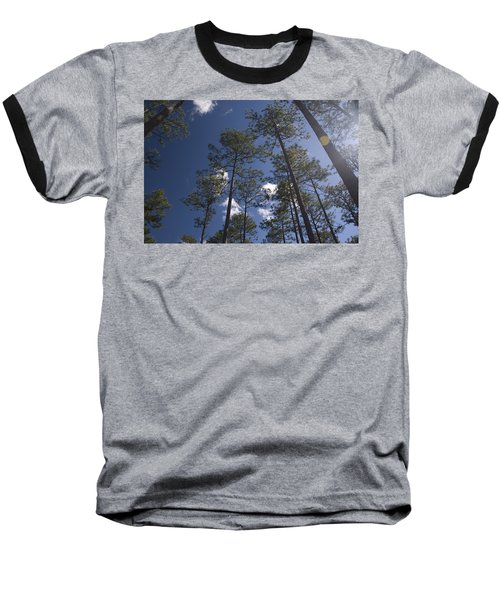 Baseball T-Shirt featuring the photograph Trees And Nature by Charles Beeler