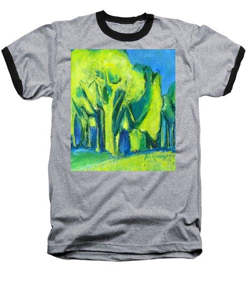Trees Baseball T-Shirt