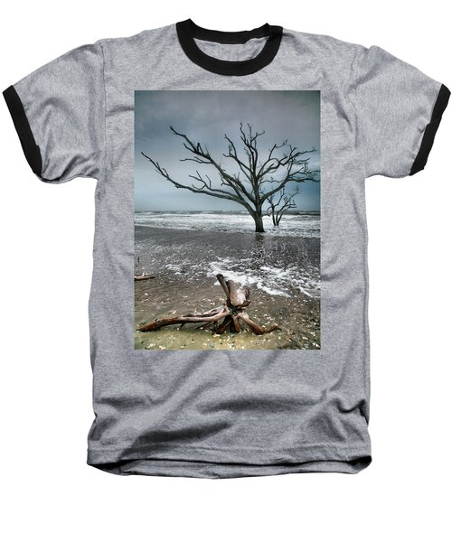 Trees In Surf Baseball T-Shirt