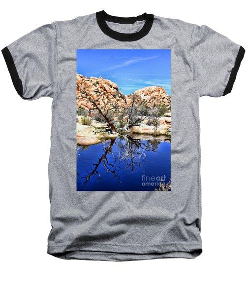 Trees In The Barker Dam Baseball T-Shirt